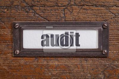 Papiers peints Audit étiquette fichier CAB