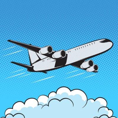 Papiers peints Avion, rétro, style, pop art, air
