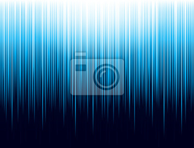 Papiers peints Background with blue glowing striped lines technology. Abstract background with vertical lines. Cover Design template for the presentation, brochure, web, banner, catalog, poster, magazine - Vector