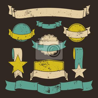 Badges grunges et bannières Collection