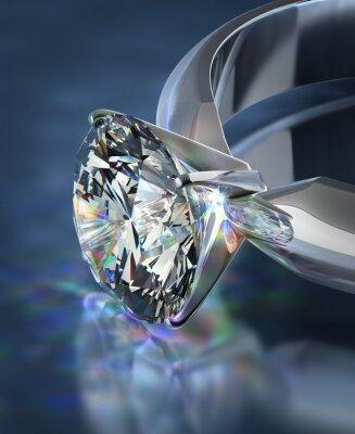Papiers peints Bague en diamant