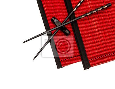 Baguettes Chinoises Noires Decor De Table De Style Asiatique Papier