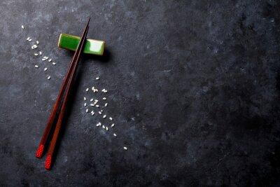 Papiers peints Baguettes de sushi