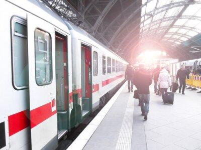 Papiers peints Bahnhofsverkehr