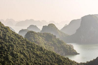 Papiers peints Baie d'Halong Vietnam