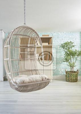 Balancoire Moderne Bambou Chaise Interieur Et Exterieur Meubles