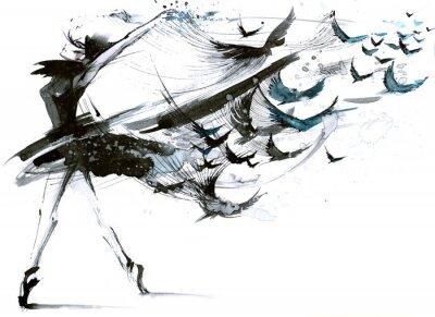 Papiers peints ballet