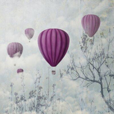 Papiers peints Ballons roses