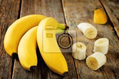 Banane aux tranches