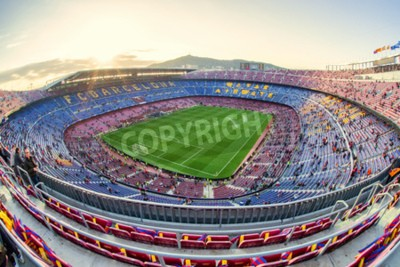 Papiers peints BARCELONE, ESPAGNE - 19 AVRIL: stade de football le 19 avril 2017 à Barcelone