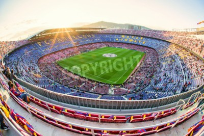 Papiers peints BARCELONE, ESPAGNE - 19 AVRIL: stade de football Nou Camp le 19 avril 2017 à Barcelone