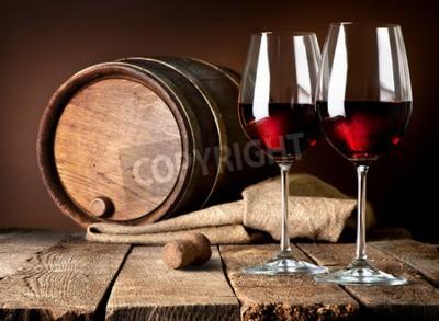 Papiers peints Baril, vin, vin, rouges, vin