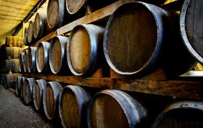 Papiers peints Barriques de vin