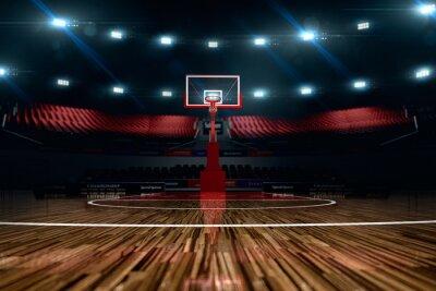 Papiers peints Basket-ball. arène sportive.