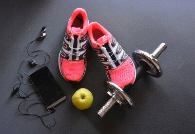 Papiers peints baskets, vêtements pour le fitness