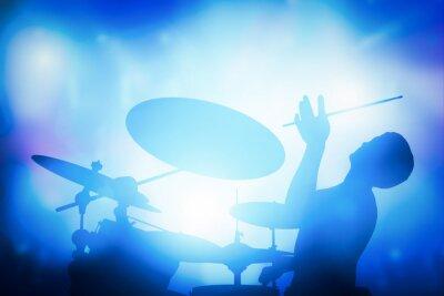 Papiers peints Batteur, jouer, Tambours, musique, concert Lampes de club