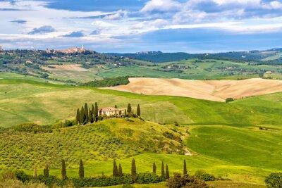 Papiers peints Beau paysage en Toscane, Italie