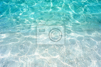 Papiers peints beautiful tropical turquoise clear sea water surface