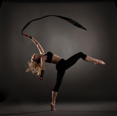 Papiers peints belle danseuse de ballet