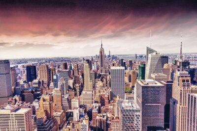 Papiers peints Belle vue des toits de New York