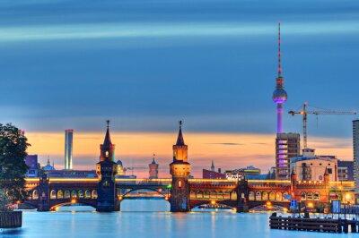 Papiers peints Berlin Oberbaumbrücke