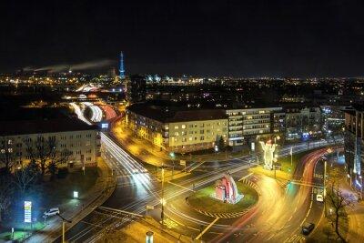 Papiers peints Berlin vie de la ville la nuit