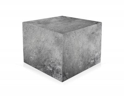 Papiers peints Béton, cube, isolé