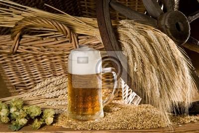 Bier mit getreide