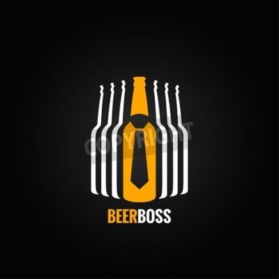 Papiers peints Bière bouteille patron concept conception fond