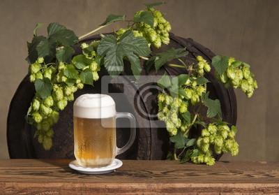 bière et du houblon