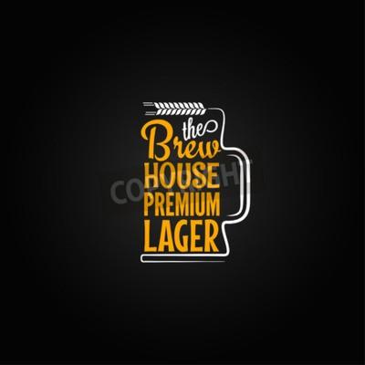 Papiers peints Bière, tasse, conception, fond