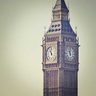 Papiers peints Big Ben à Westminster, Londres, avec filtre d'effet Instagram