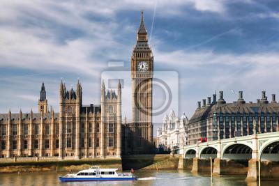 Papiers Peints Big Ben Avec Pont A Londres Angleterre
