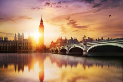 Papiers peints Big Ben et des Chambres du Parlement