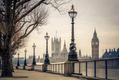 Papiers peints Big Ben et des Chambres du Parlement, Londres
