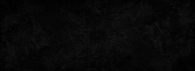 Papiers peints Black abstract background. Dark rock texture. Black stone background with copy space for design. Web banner.