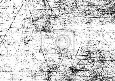 Papiers peints Black and white grunge. Distress overlay texture. Abstract surface dust and rough dirty wall background concept. Distress illustration simply place over object to create grunge effect . Vector EPS10.