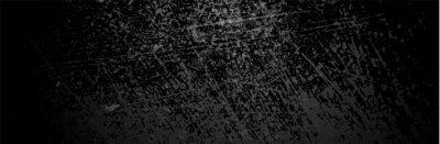 Papiers peints Black Grunge Background. Dirty metal surface. Dark texture. Vector illustration