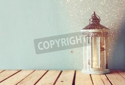 Papiers peints Blanc, bois, vendange, lanterne, brûlé, bougie, arbre, branches, bois, table Retro, filtré, image, scintillement, overlay