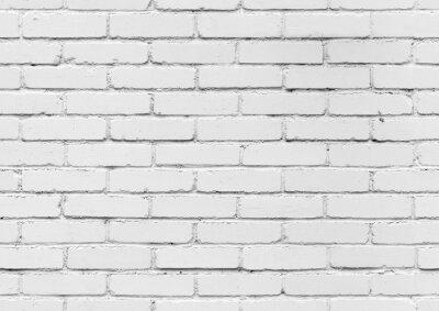 Papiers peints Blanc, brique, mur, seamless, fond, texture