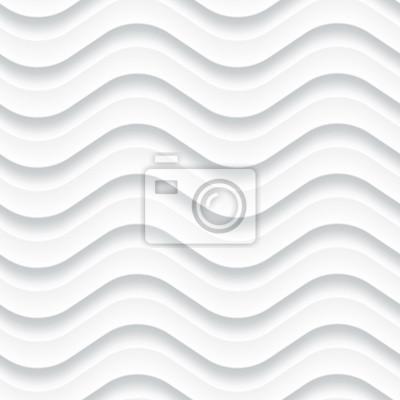 Blanc, fond, seamless, panneau, ondulé, texture