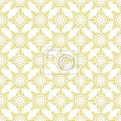Blanc Or Courbe Seamless Modele Resume Geometrique Moderne