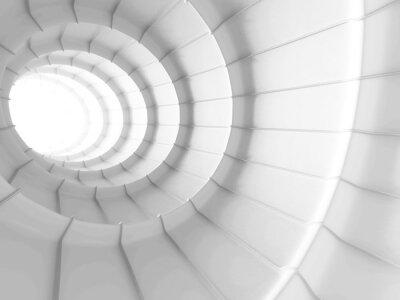 Papiers peints Blanc, résumé, tunnel, conception, fond