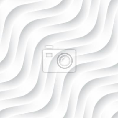 Blanc, seamless, fond, panneau, ondulé, texture