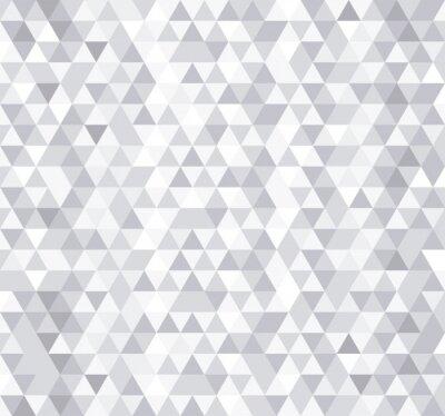 Papiers peints Blanc triangle tuiles seamless, vecteur de fond.