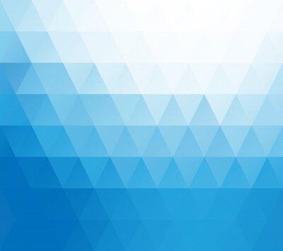 Papiers peints Bleu Blanc Mosaic Background, Creative Design Templates