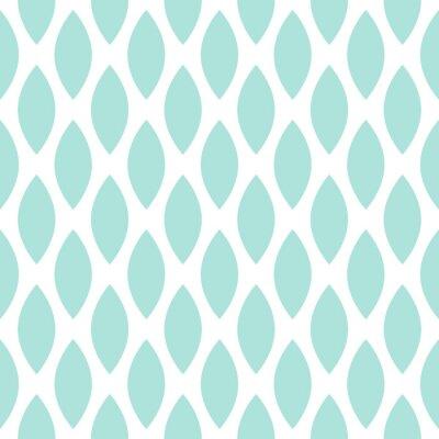 Bleu, gouttes, vecteur, seamless, géométrique, modèle.