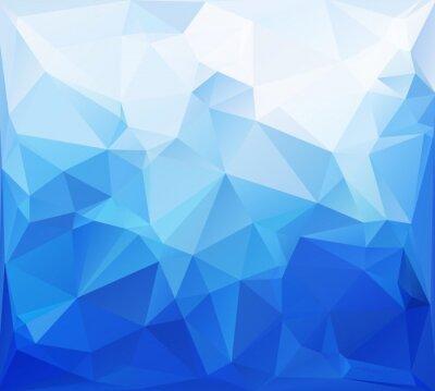 Papiers peints Bleu polygonal Mosaic Background, Creative Design Templates