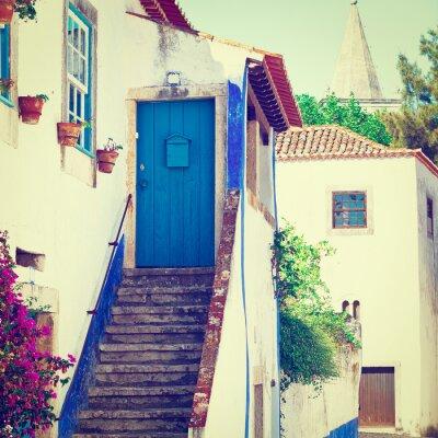 Papiers peints Blue Door