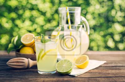 Boisson d'été - limonade froide